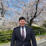 春の山崎川にて
