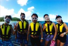 グアム旅行で潜ったキレイな海が忘れられません